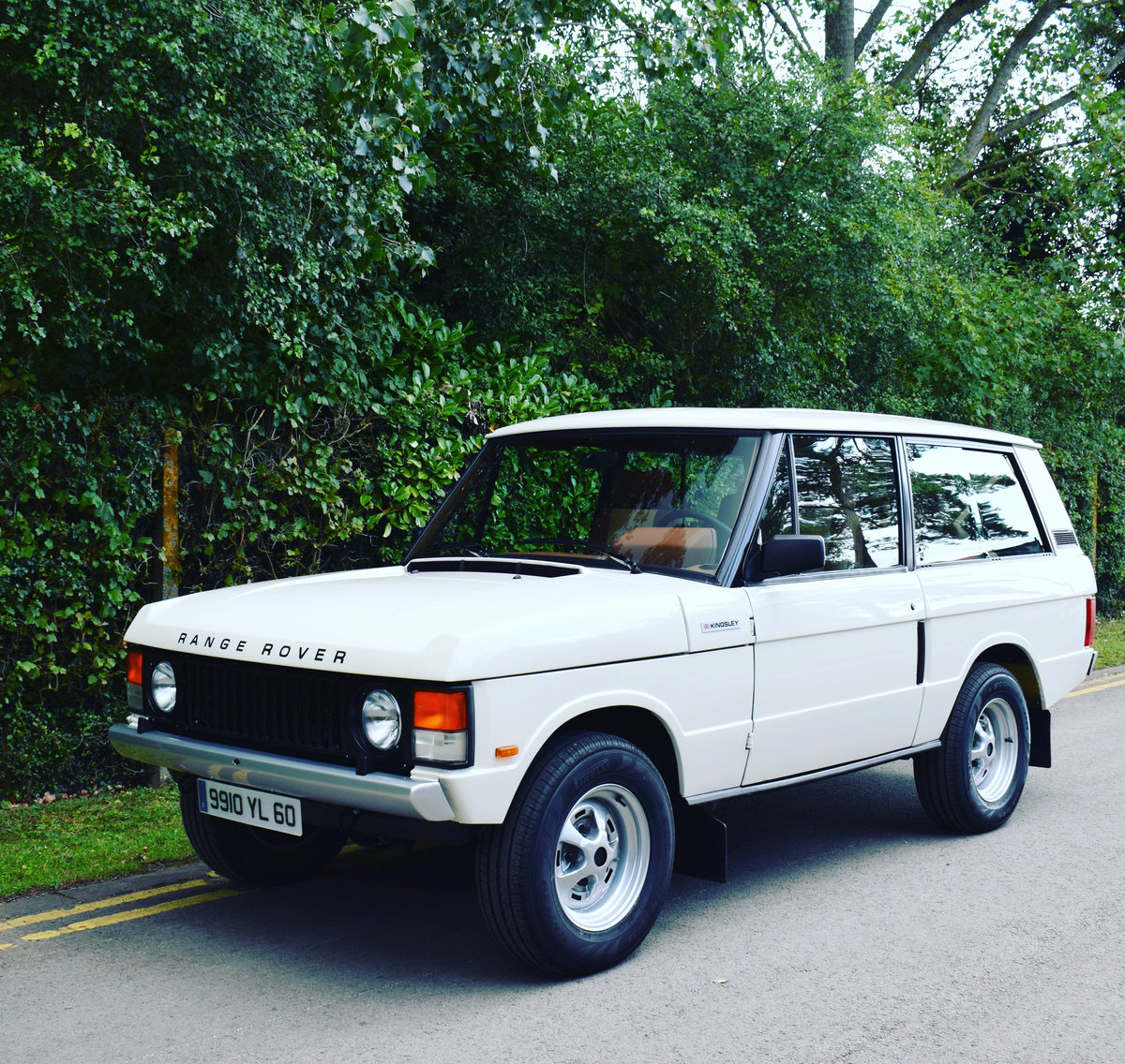 1991 LHD KINGSLEY K2R RANGE ROVER CLASSIC 2 DOOR 4.6 For Sale (picture 1 of 6)