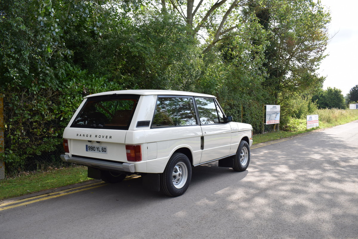 1991 LHD KINGSLEY K2R RANGE ROVER CLASSIC 2 DOOR 4.6 For Sale (picture 3 of 6)