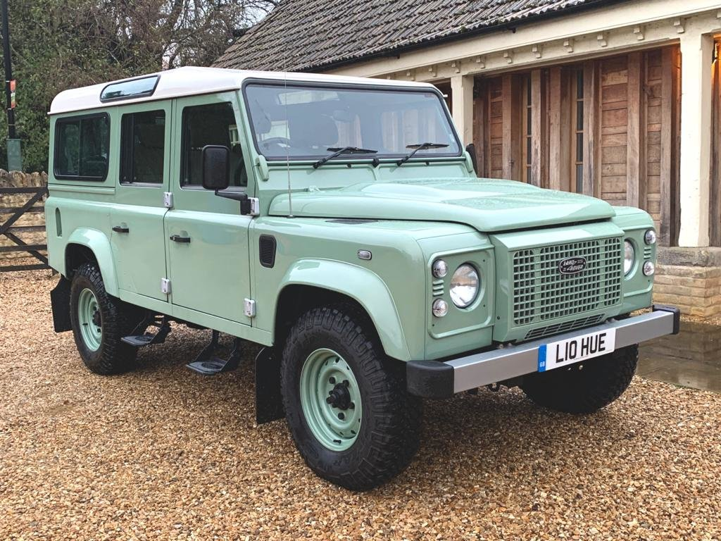 2015 Land Rover Defender 110 2.2TDCi HERITAGE final edition For Sale (picture 1 of 6)