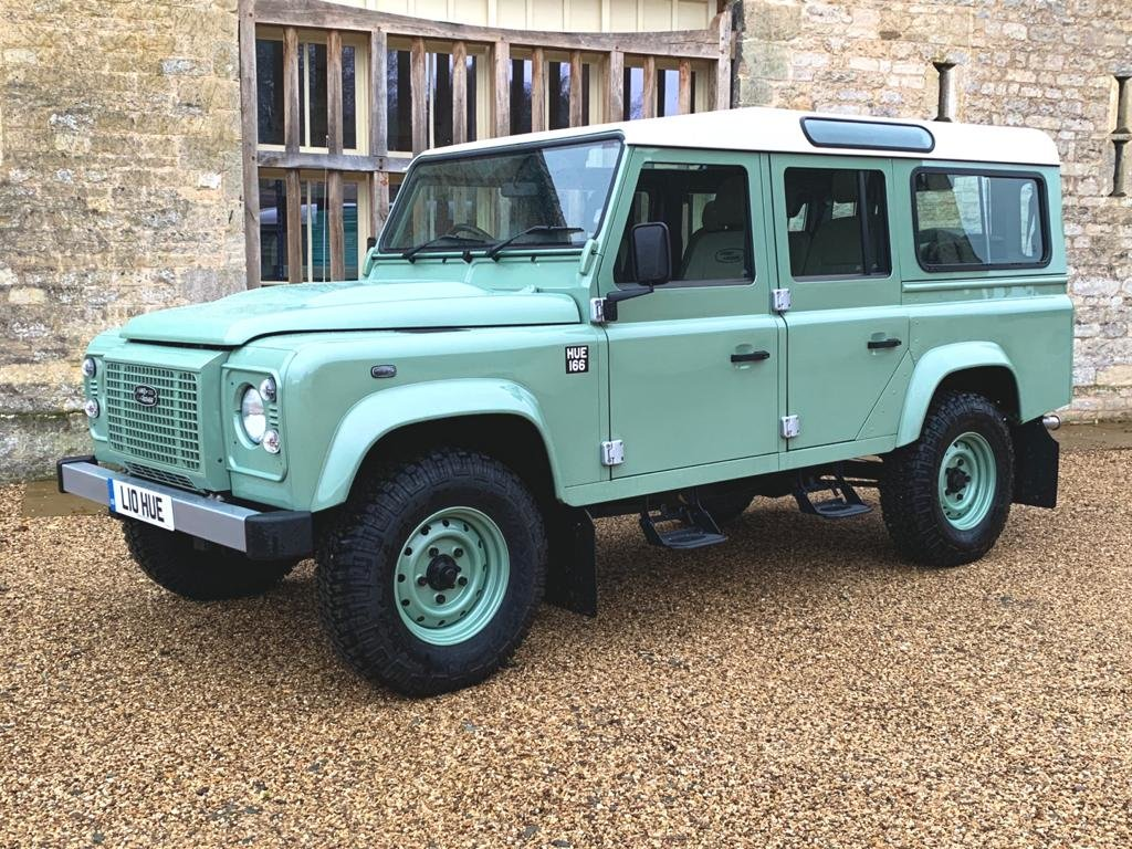 2015 Land Rover Defender 110 2.2TDCi HERITAGE final edition For Sale (picture 2 of 6)