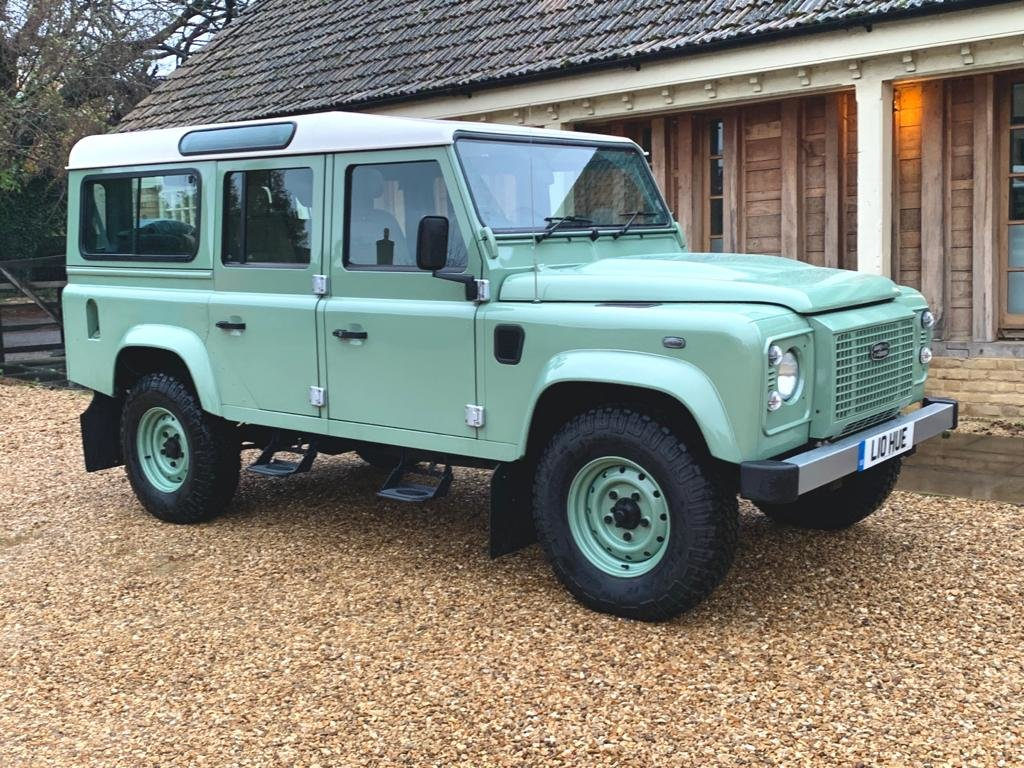 2015 Land Rover Defender 110 2.2TDCi HERITAGE final edition For Sale (picture 3 of 6)