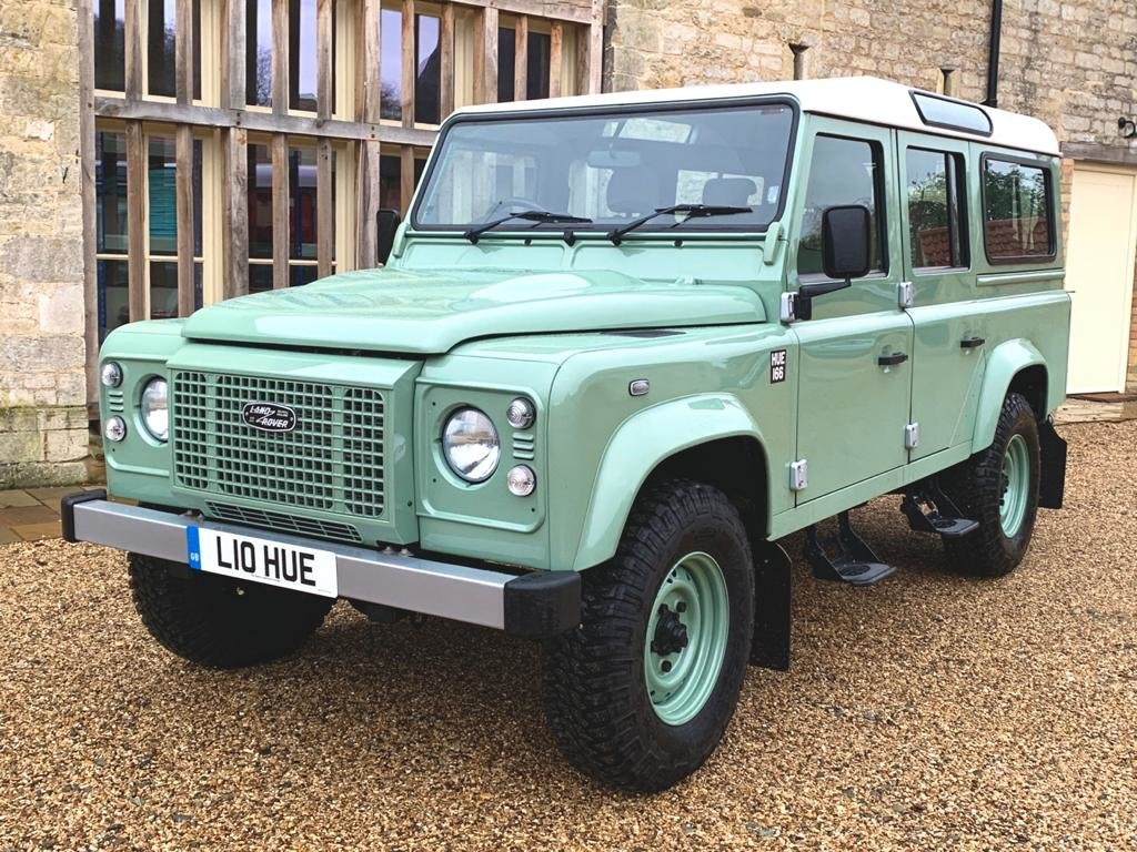 2015 Land Rover Defender 110 2.2TDCi HERITAGE final edition For Sale (picture 4 of 6)