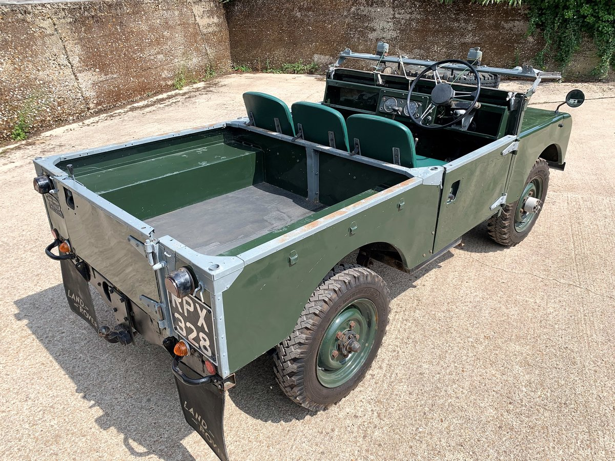 nicely patinated 1954 Series One 86in soft top-older resto SOLD (picture 4 of 6)