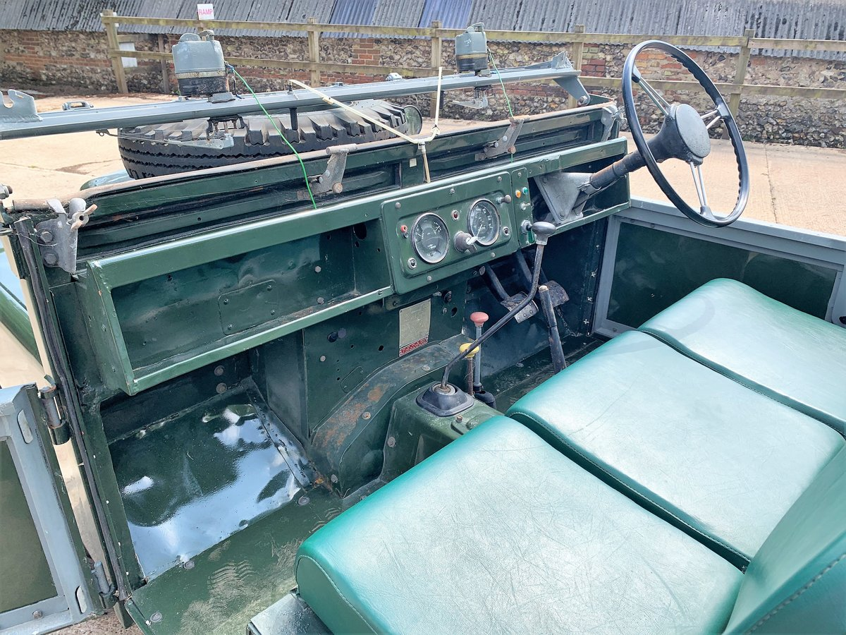 nicely patinated 1954 Series One 86in soft top-older resto SOLD (picture 5 of 6)