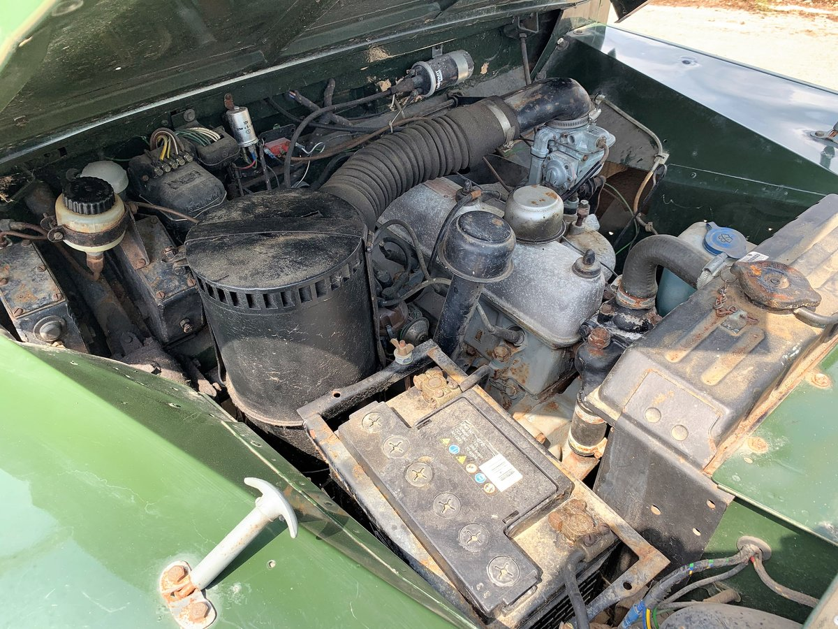 nicely patinated 1954 Series One 86in soft top-older resto SOLD (picture 6 of 6)
