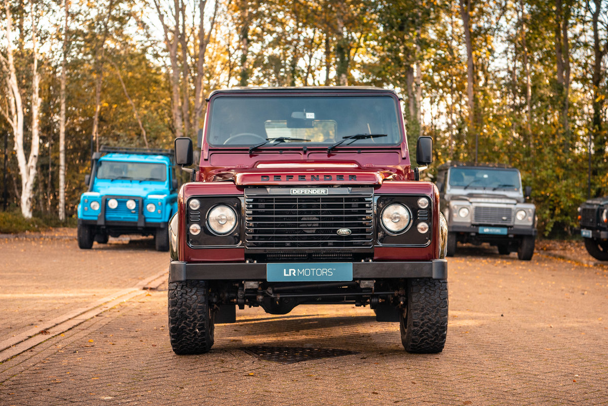 2015 LAND ROVER DEFENDER 90 LANDMARK STATION WAGON For Sale (picture 3 of 6)