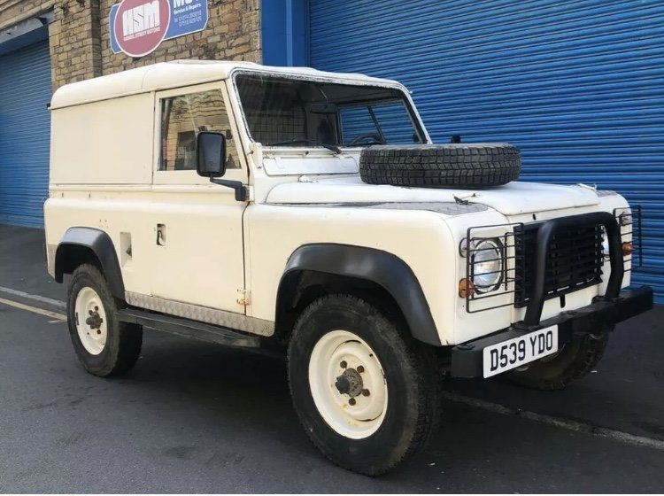 1987 /D Land Rover Defender 90 200tdi LHD For Sale (picture 1 of 6)