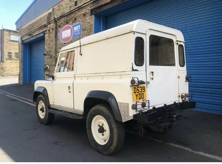 1987 /D Land Rover Defender 90 200tdi LHD For Sale (picture 4 of 6)