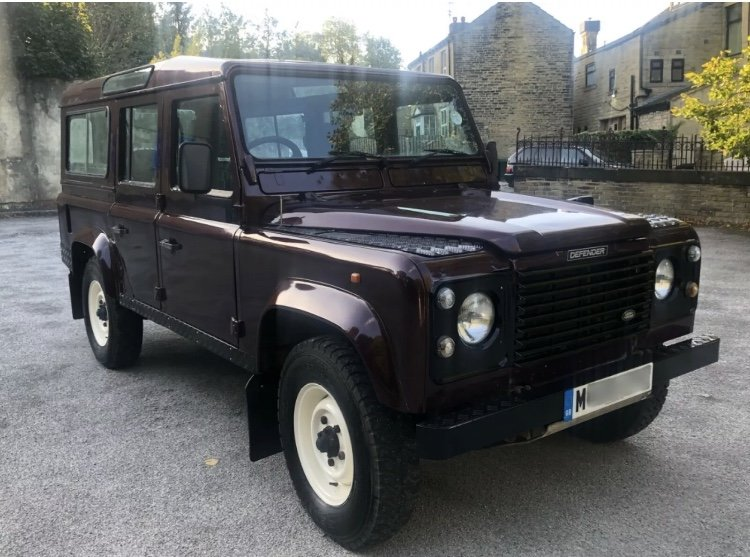 1995 /M Land Rover Defender 110 CSW For Sale (picture 1 of 6)