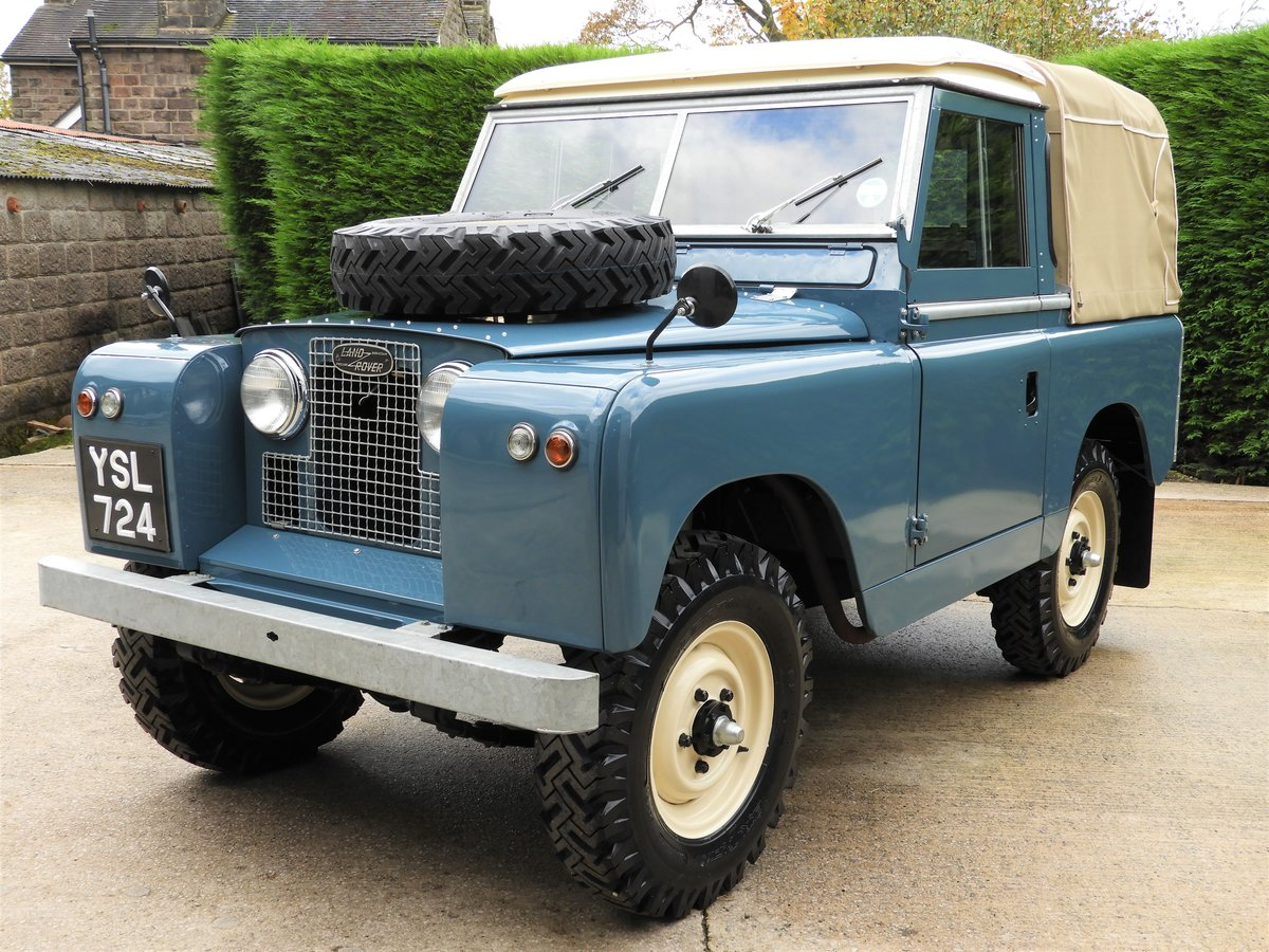 "1961 LAND ROVER SERIES 2 88"" RARE TRUCK CAB FULLY RESTO For Sale (picture 2 of 6)"