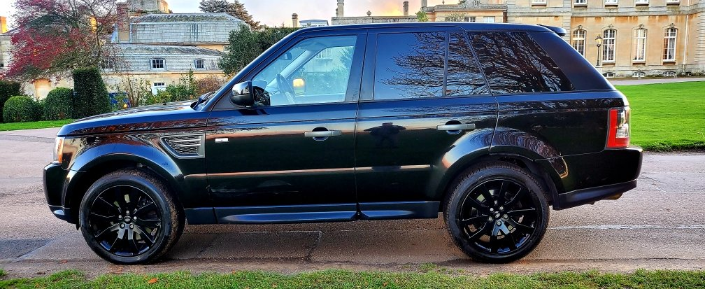 2011 LHD RANGE ROVER SPORT 3.0 SDV6 SE, LEFT HAND DRIVE For Sale (picture 2 of 6)
