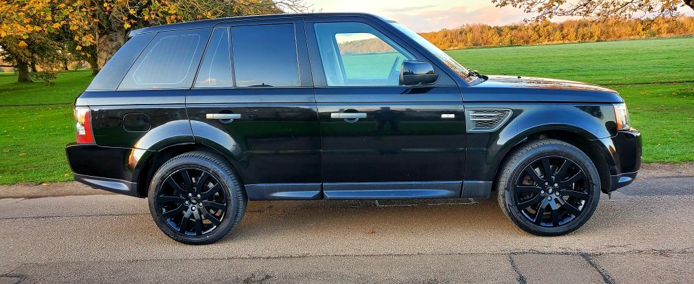 2011 LHD RANGE ROVER SPORT 3.0 SDV6 SE, LEFT HAND DRIVE For Sale (picture 4 of 6)
