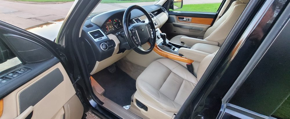 2011 LHD RANGE ROVER SPORT 3.0 SDV6 SE, LEFT HAND DRIVE For Sale (picture 5 of 6)