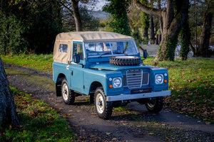 "Land Rover Series 3 88"" Soft Top Nut & Bolt Restoration Jame"