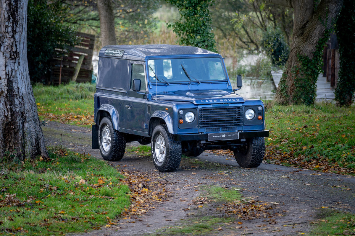 2008 Land Rover Defender 90 2.4TDi County Hard Top 1 Owner SOLD (picture 2 of 6)