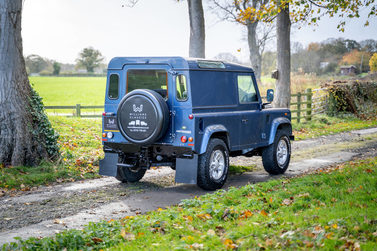 2008 Land Rover Defender 90 2.4TDi County Hard Top 1 Owner SOLD (picture 5 of 6)