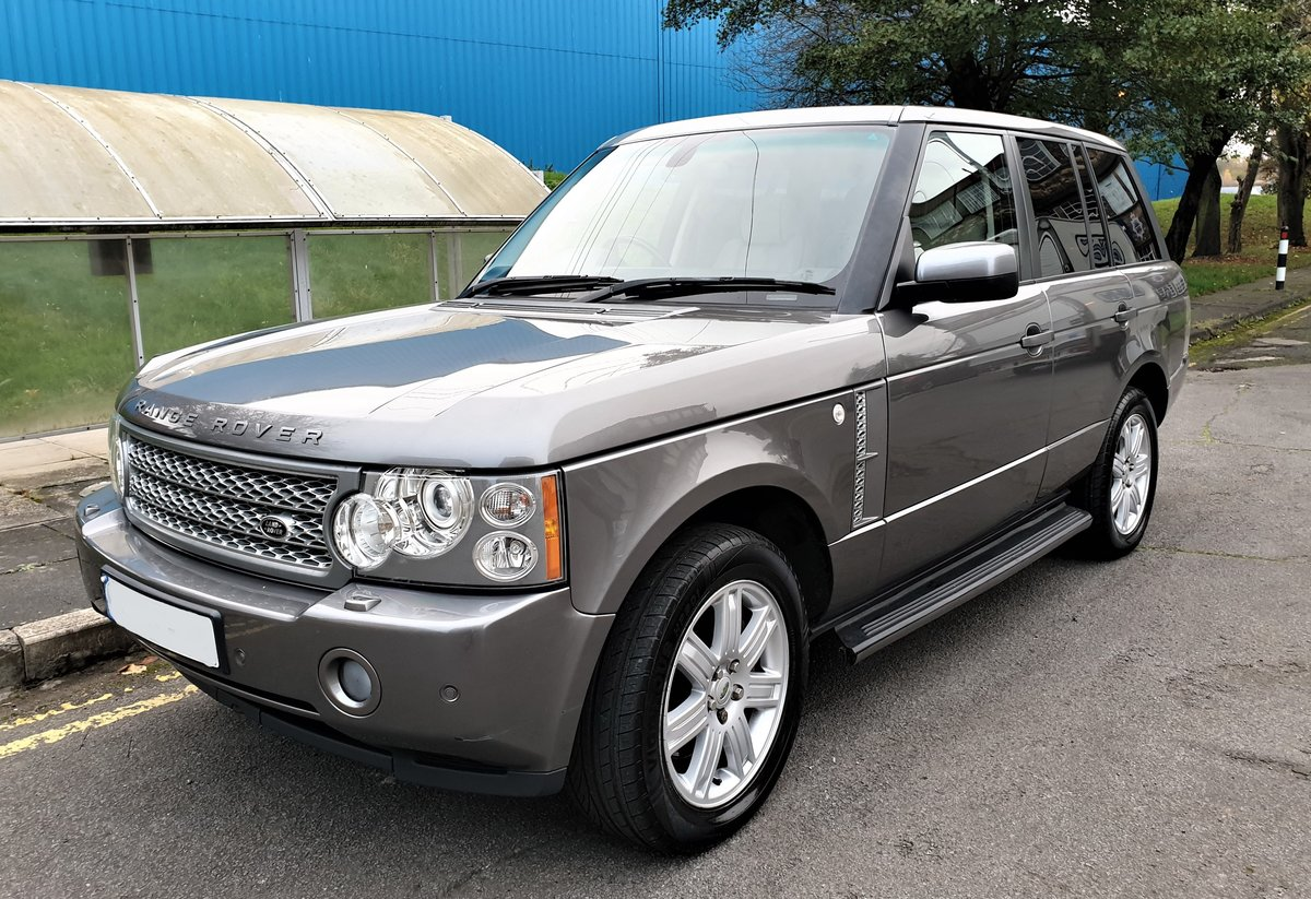 2008 RANGE ROVER VOGUE 3.6 V8 TURBO DIESEL FULL SERVICE HISTORY For Sale (picture 1 of 6)