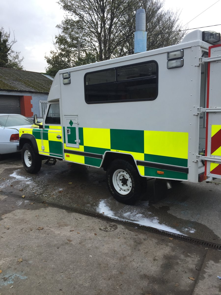 2008 Landrover puma 130 ambulance 13 tho miles x con For Sale (picture 2 of 6)