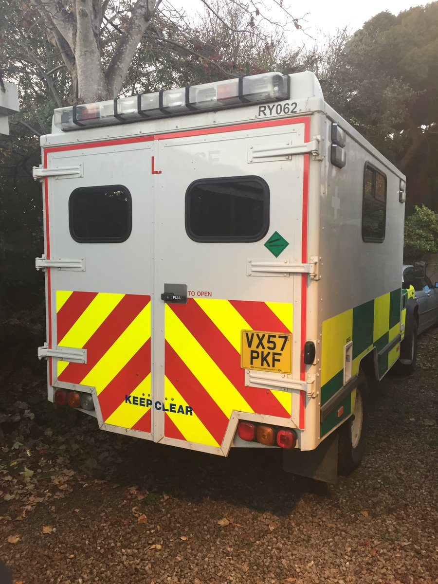 2008 Landrover puma 130 ambulance 13 tho miles x con For Sale (picture 4 of 6)