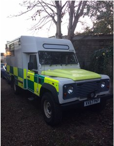 Landrover puma 130 ambulance 13 tho miles x con