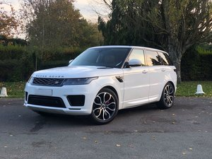 201868 Land Rover RANGE ROVER SPORT