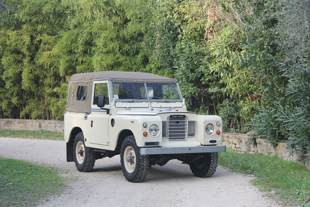 Picture of 1974 LAND ROVER SERIES 3 SOFT TOP PETROL LHD For Sale