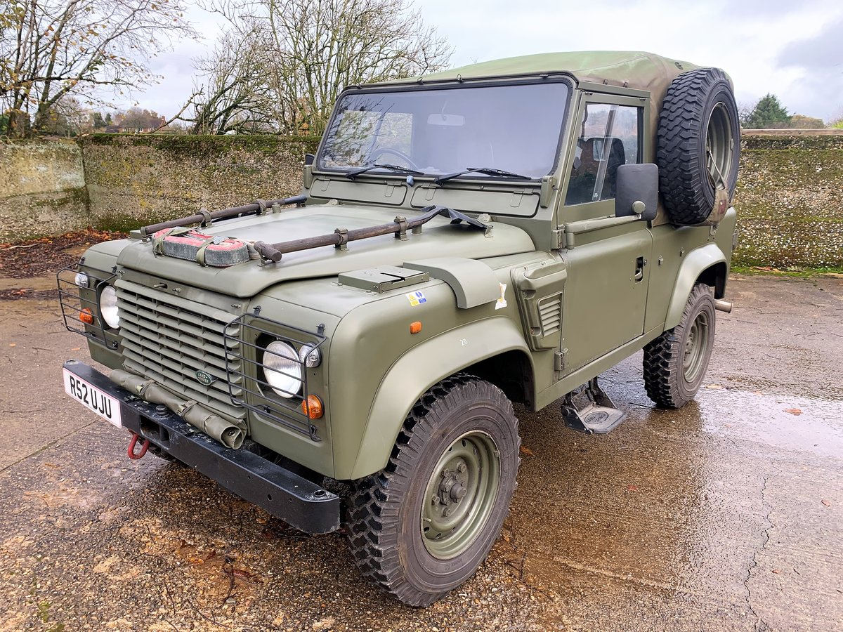 1998 Defender 90 300TDi XD Wolf soft top+long MOT For Sale (picture 1 of 6)