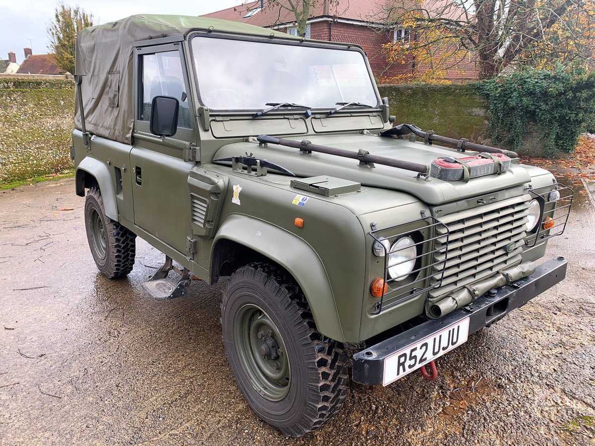 1998 Defender 90 300TDi XD Wolf soft top+long MOT For Sale (picture 2 of 6)