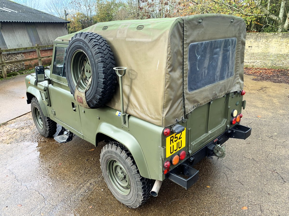 1998 Defender 90 300TDi XD Wolf soft top+long MOT For Sale (picture 3 of 6)