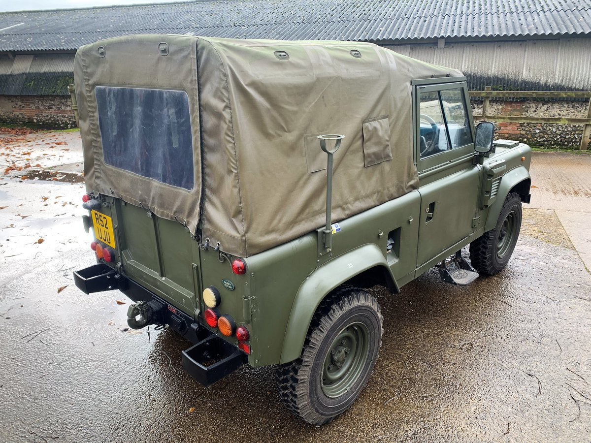 1998 Defender 90 300TDi XD Wolf soft top+long MOT For Sale (picture 4 of 6)