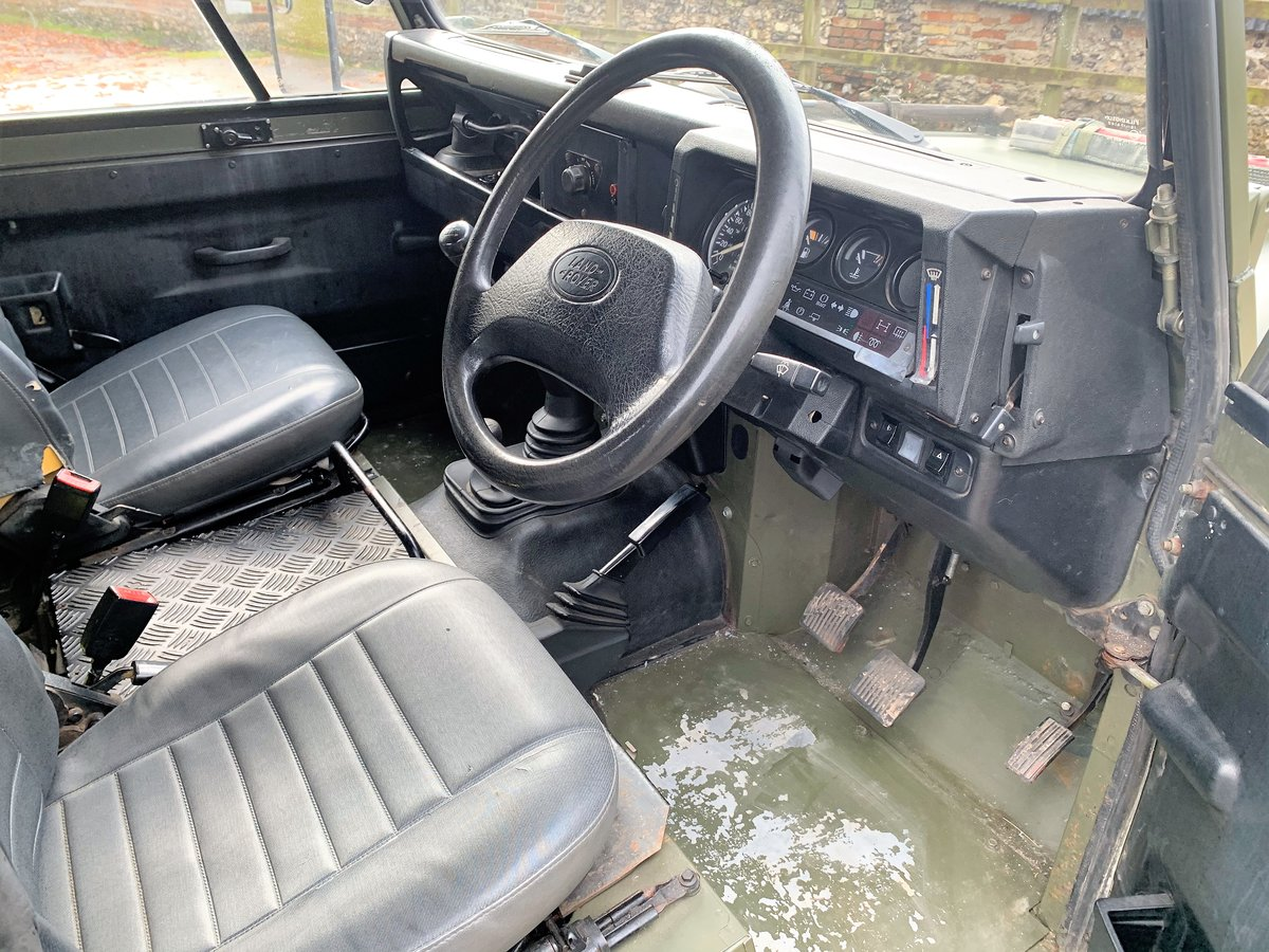1998 Defender 90 300TDi XD Wolf soft top+long MOT For Sale (picture 5 of 6)