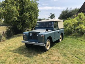 Landrover series 2a completely original