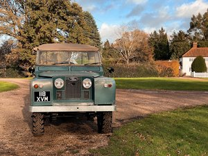 Well Preserved Classic Land Rover Series 2 88 Inch