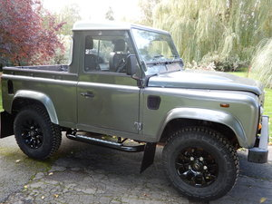 2009 Land Rover Defender 90 Truck Cab