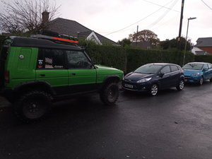 Discovery Off road, recovery land rover