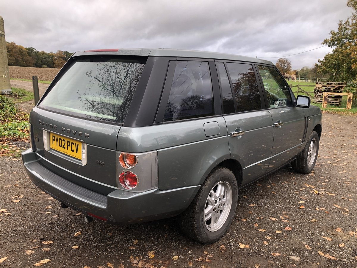2002 Range Rover HSE 4.4 V8 L322 Low Mileage For Sale (picture 2 of 6)