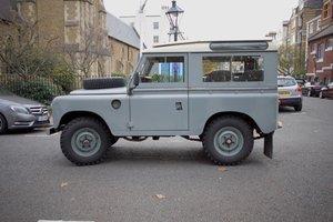 Land Rover series 3 '88 station wagon - time warp