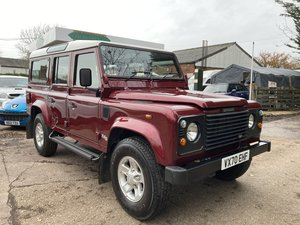 Exceptional Defender 110 Td5 County Station Wagon