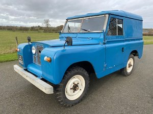 Picture of 1966 Land Rover IIA 88'' Petrol in Blue SOLD