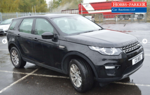 2015 Land Rover Discovery Sport for auction 25th