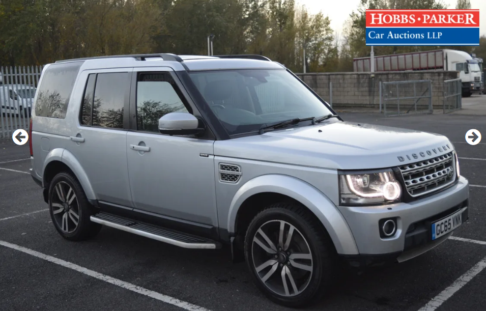 2015 Land Rover Discovery Luxury 63,940 Miles for auction For Sale by Auction (picture 1 of 6)