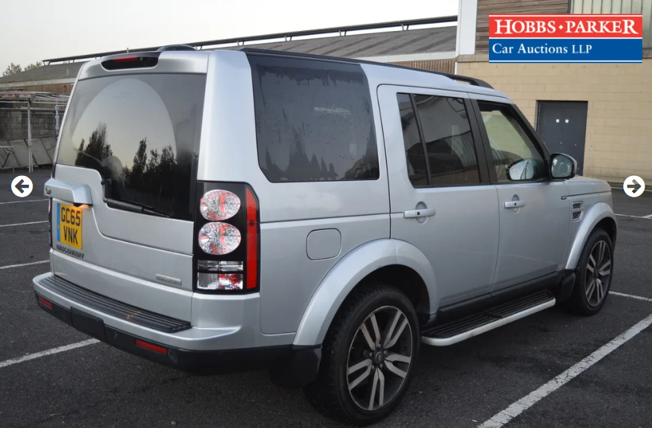 2015 Land Rover Discovery Luxury 63,940 Miles for auction For Sale by Auction (picture 2 of 6)
