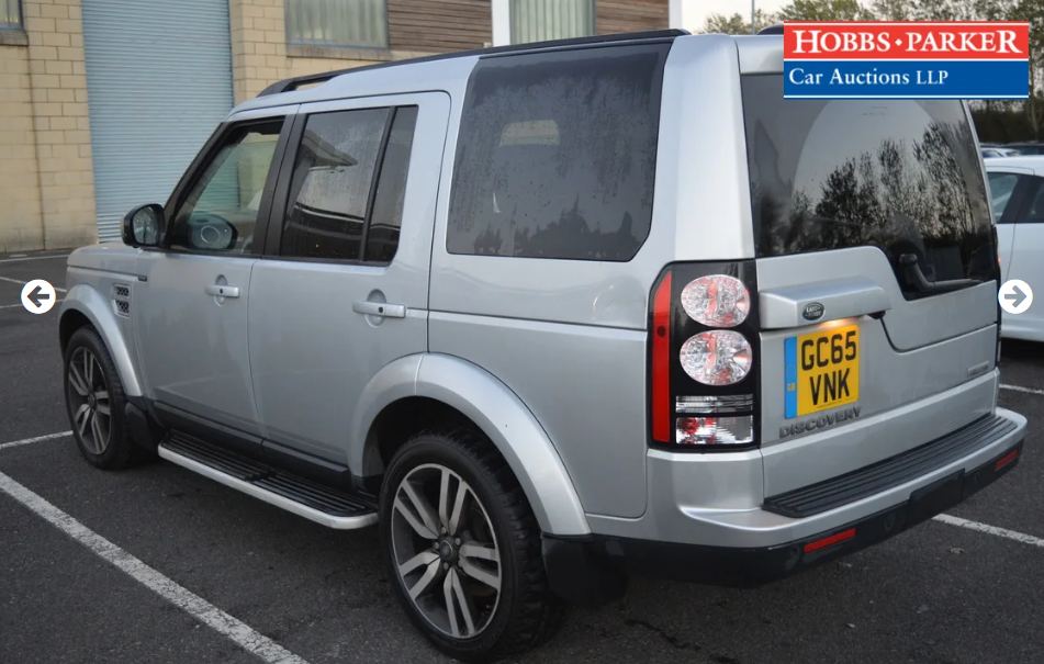 2015 Land Rover Discovery Luxury 63,940 Miles for auction For Sale by Auction (picture 3 of 6)