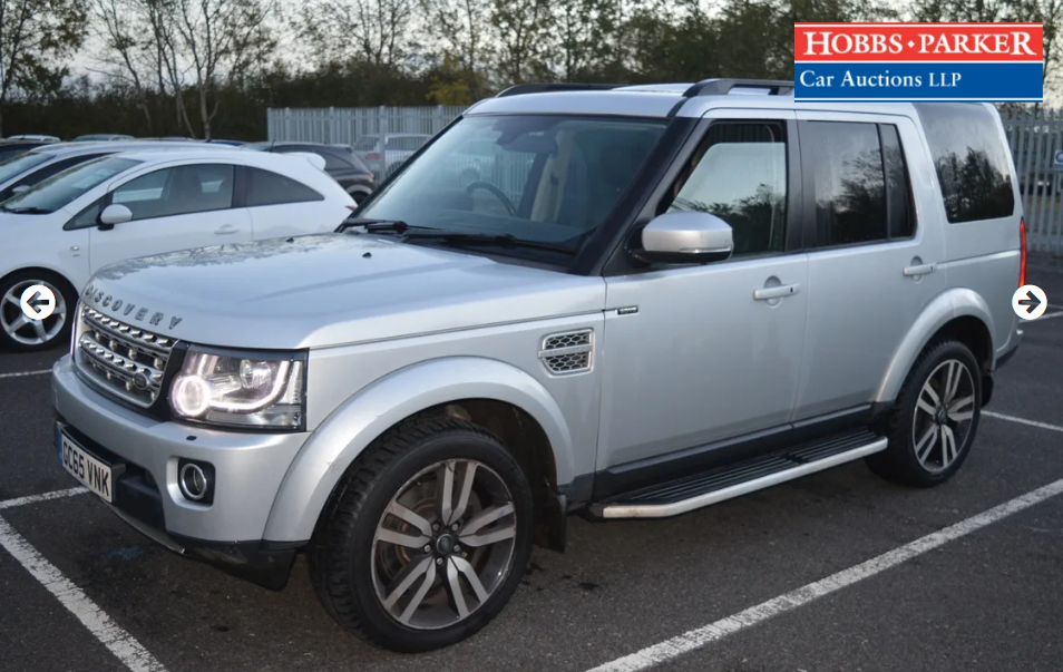 2015 Land Rover Discovery Luxury 63,940 Miles for auction For Sale by Auction (picture 4 of 6)