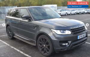 Picture of 2016 Land Rover Range Rover Sport HSE Dynam For Sale by Auction