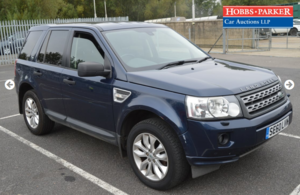 2010 Land Rover Freelander XS 87,395 Miles for auction 25th