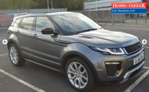 Land Rover Range Rover Evoque LUX 30,039 Miles for auction