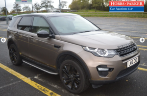 Land Rover Discovery Sport Black HSE - 40,286 - Auction 25th
