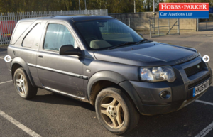 Land Rover Freelander TD4 SWB - 104,256 Miles - Auction 17th