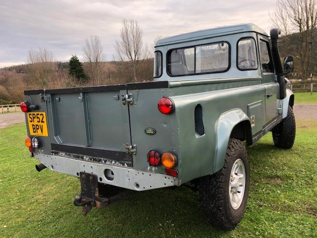 2002 Land Rover Defender 110 td5 truck cab, Galvanised chassis For Sale (picture 2 of 6)